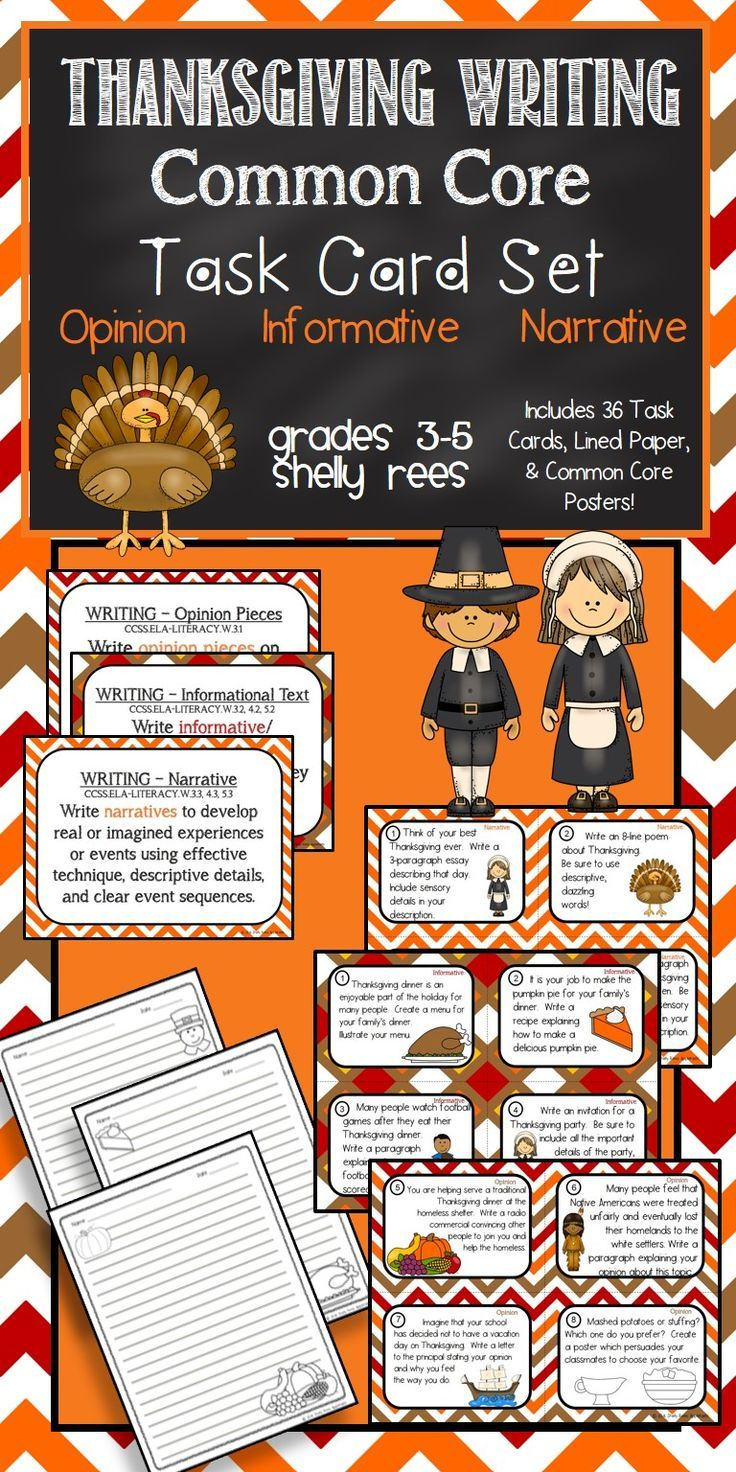 best images about easter activities for teachers thanksgiving common core writing task card set such fun includes 12 thanksgiving themed