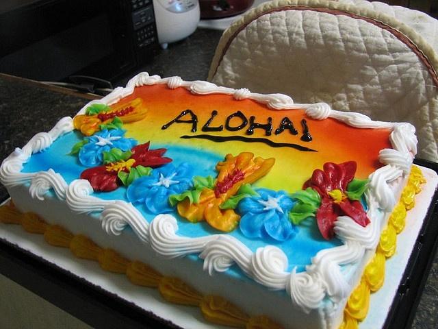 Aloha Cake By Lakenvelder, Via Flickr