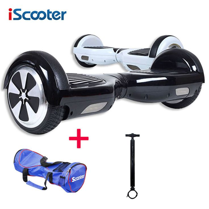 Hoverboard 6.5 inch iScooter bluetooth 2 Wheel Smart balance Electric Scooter Free shipping electric skateboard giroskuter