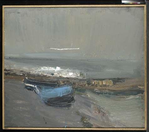 Boats and the Sea - Joan Eardley