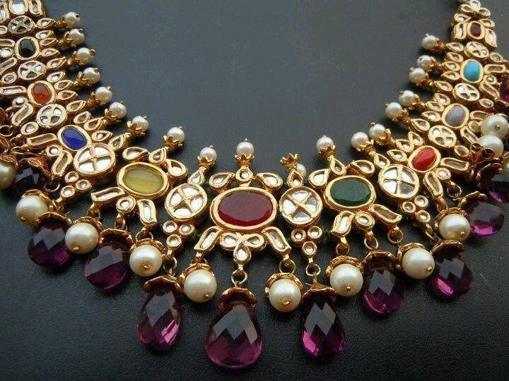 navratna jewelry indian - Google Search