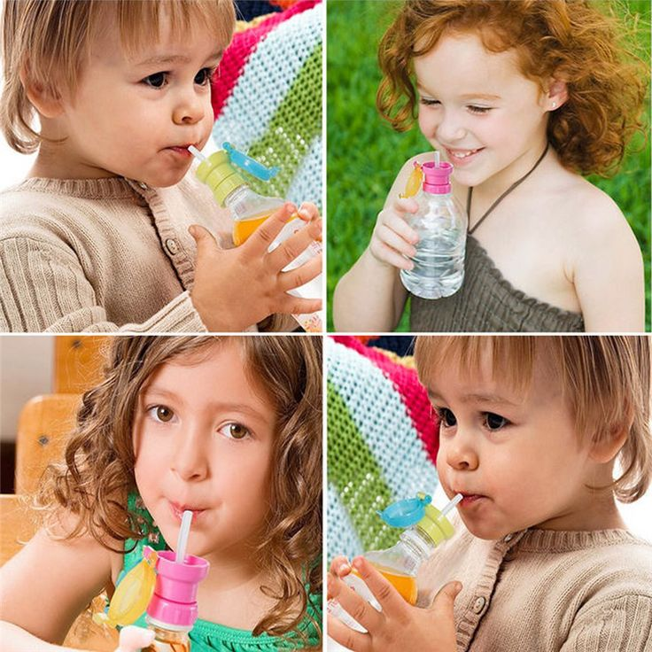 Children's Portable Spill-Proof Bottle Drinks Straw Cover Children Drinking Protection Tool Kids Safe Drinking Free Shipping