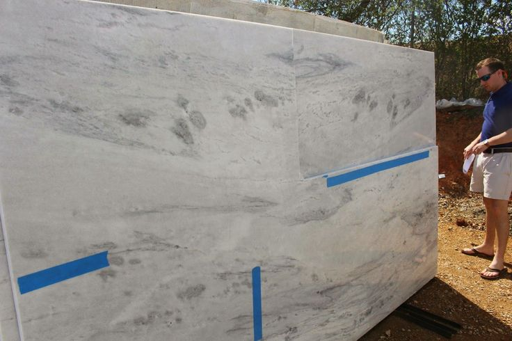 Mont Blanc granite.  If Kashmir White doesn't work out