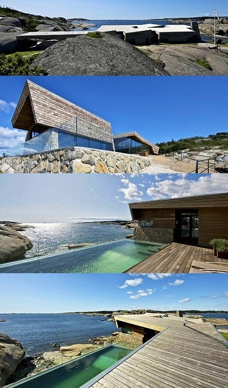 The Summer House Is Located On The Coast Of Vestfold In The Southern Part  Of Norway.