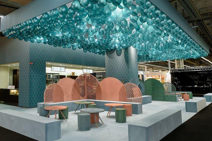 Jade Serenity Café by Bethan Gray at Ambiente 2017 Frankfurt Germany