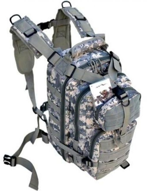 Tactical Assault Bag Daily Carry EDC Day Pack Backpack W/ Molle Webbing Army NEW #DailyCarry