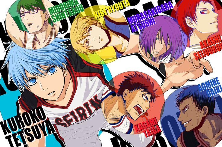 kuroko no basket Cerca con Google Kuroko, Anime
