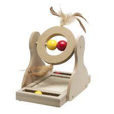 Karlie Flamingo Katzen Holz-Kratzspielzeug Tumbler, NEU