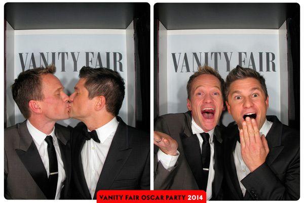 Fotomatón Oscar 2014 - Vanity Fair