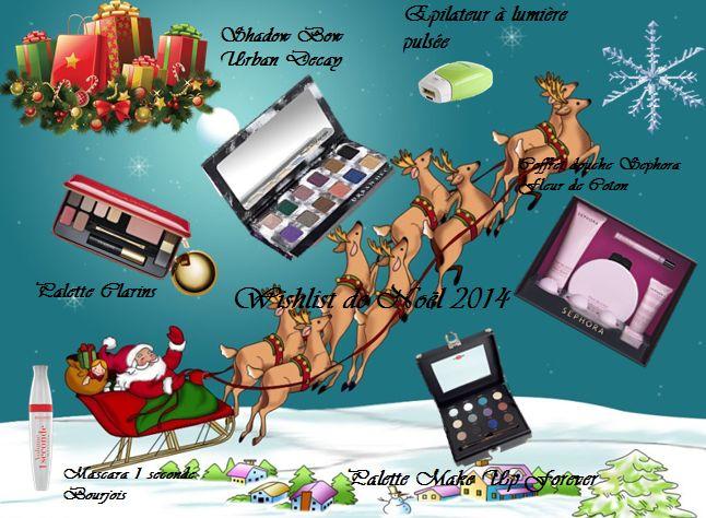 Wishlist de Noël 2014