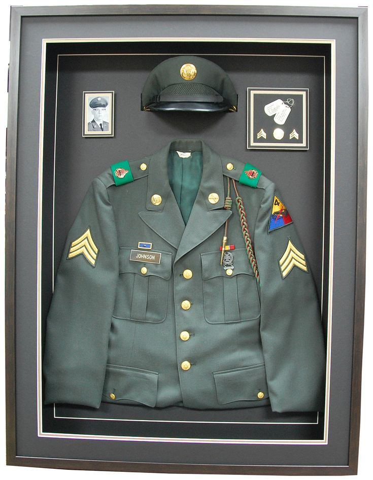 Military Memories and More - Army Class A Jacket : shadow box military uniform - Aboutintivar.Com