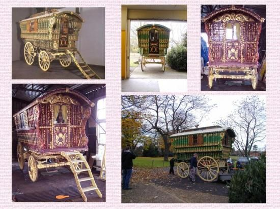 23 best gypsy wagons and caravans images on pinterest