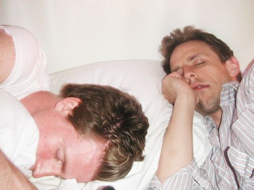 They nap together. | Seth And Josh Meyers Are The Most Flawless Brothers Ever. FINALLY someone agrees with me.