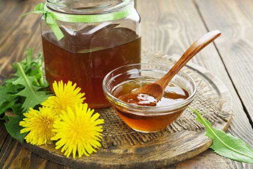 Pampeliškový med s citrónem