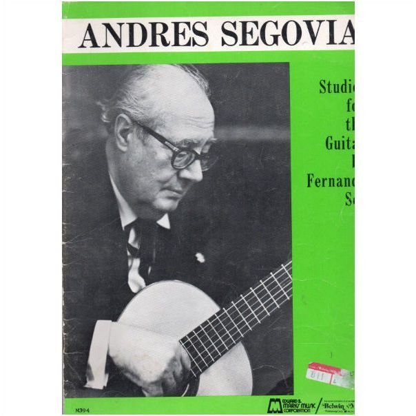 Andres Segovia Studies for Guitar by Fernando Sor sheet music booklet Listing in the Contemporary,Sheet Music & Song Books,Musical Instruments & Gear Category on eBid United Kingdom | 157357032