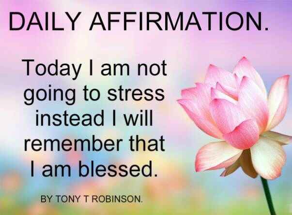 Life Quote...BLESSED NOT STRESSED!!