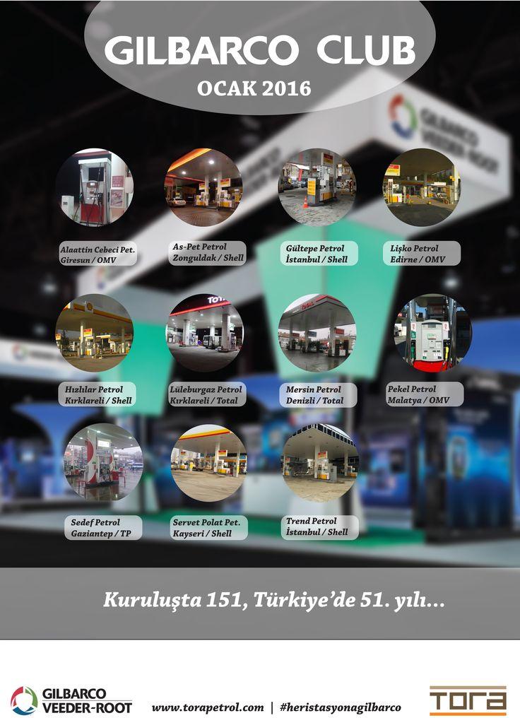 #gilbarcoclub  Ailemize her ay Türkiye'nin her bölgesinden yeni istasyonlar katıyoruz..  #heristasyonagilbarco