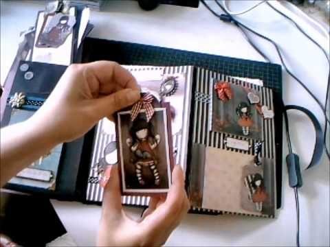 gorjuss girl mini album- OMG This is the most amazing album I have seen. love love
