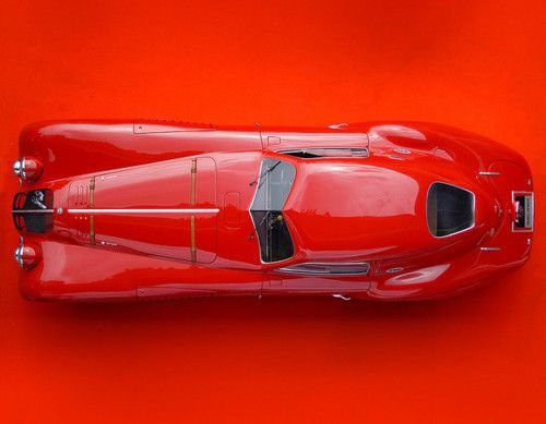 1938 Alfa Romeo 8C 2900 Le Mans Coupe.