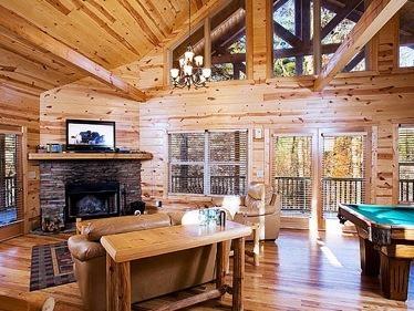 $125.00 a night Cabins in Helen GA | North Georgia Cabin Rentals | Allure - 22AL
