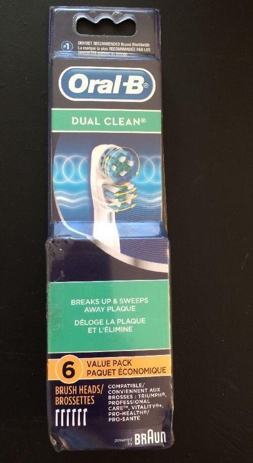 Braun Oral-B Dual Clean 6 Value Pack