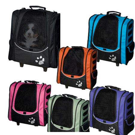Can you believe it? 5 most needed in one small pet carrier. It's a stroller, a tote carrier, car seat, backpack, carrier, and even air-line approved for most air-lines. 6 amazing colors AND it's on sale for 3 days now. Hamm