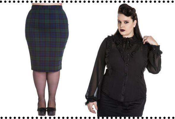 Look Gótico Casual para ir al Trabajo #outfits  #gothfashion #gothgoth #gothic #moda