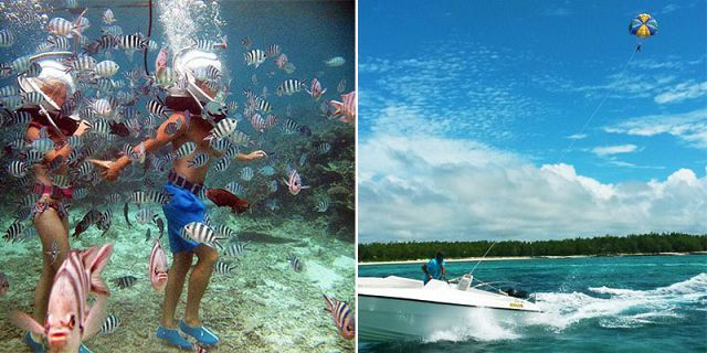 MAURITIUS ATTRACTIONS Budget Day Package Ile aux Cerfs
