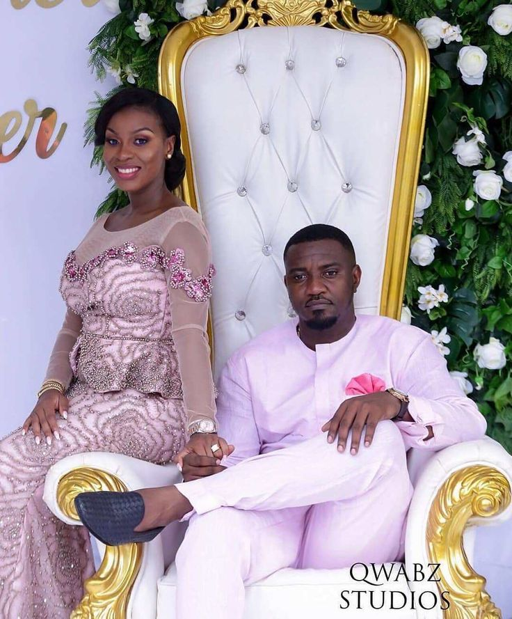 Celebrity Wedding Guest Outfits 2019: More Photos From John Dumelo And Mawunya's Traditional