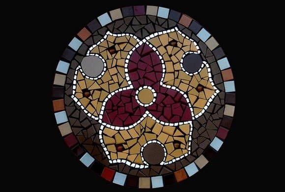 Mandala de Mosaico - Elemento Terra