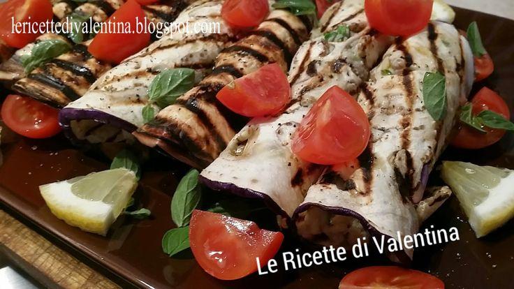 Le Ricette di Valentina: Involtini di melanzana e nasello (ricetta bimby)