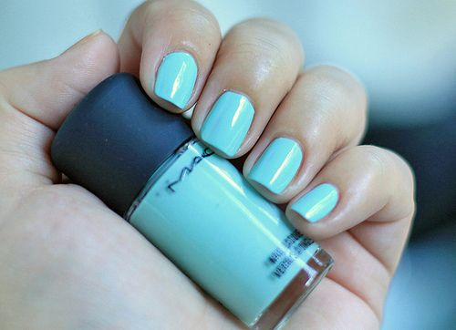 usually only like neon nail polish but love this ZTA blue :)