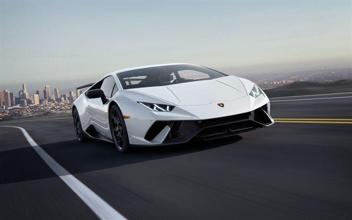 Best Sports Cars Illustration Description Lamborghini Huracan 2018 Supercar White Coupe Lamborghini Huracan Car Wallpapers Sports Cars Lamborghini