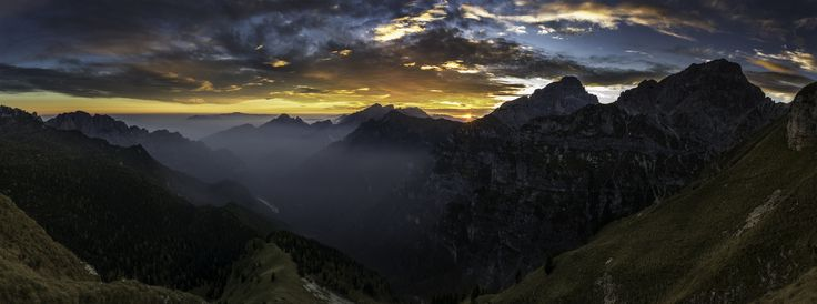 Sunset in the Dolomites by Enrico Lapponi on 500px