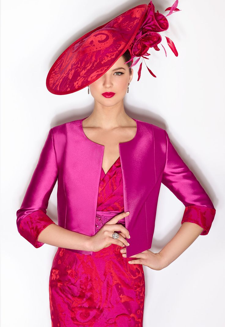 Mother Of The Bride Outfit Burgundy Claret Magenta