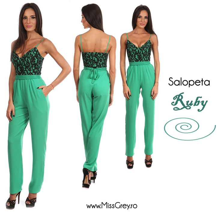 A beautiful and elegant overall for women, by Miss Grey. Check the product here: http://bit.ly/salopeta-ruby