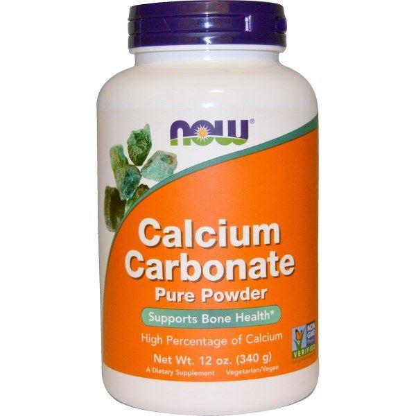 Now Foods, Calcium Carbonate Powder, 12 oz (340 g)