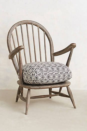 Maybe *eventually* for fireside (2).  l  Cushioned Woodwork Chair Anthropologie