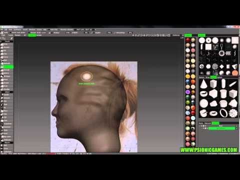 3D Coat - Model a head using reference images #1 - YouTube