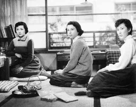 1954 『女の園』高峰秀子、久我美子、岸恵子
