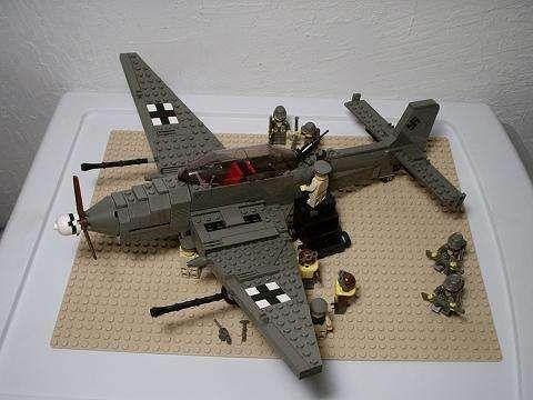 LEGO WW2 Stuka G-1