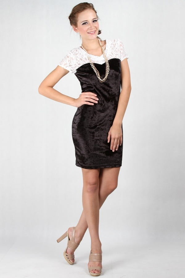 Mirabelle Dress Black www.pinkemma.com