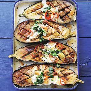 Recept - Aubergines uit de oven - Allerhande