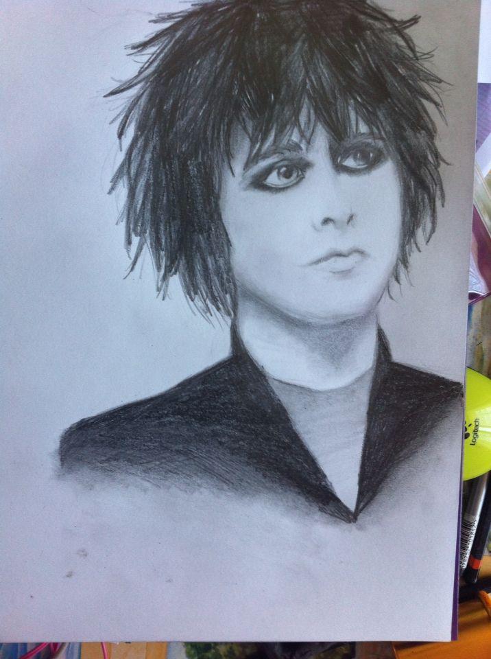 Billie Joe Armstrong dessin