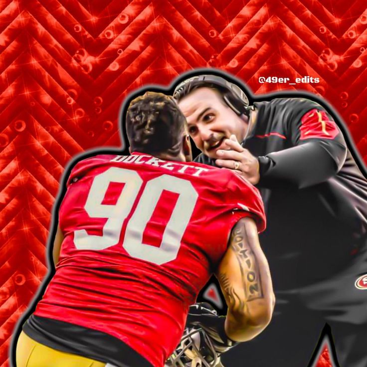 """SF 49ers News, Updates & Edits on Instagram: """"Can't wait until this beast is fully invested and not just on nickel. He's going to be a force. Armstead is getting better each day, Dial is getting better each day, Tank is ready to go, Dorsey, Williams, Purcell.... Man we have a stacked D-line. Rotation will be key to wearing offenses down. #TheDock #DarnellDockett #49ers #NFL"""""""