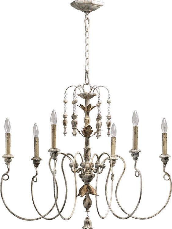Quorum Nto Chandelier Pwfinish Persian White Shade Glass Material N Aglass Finish Ablade Anumber Of Blades A