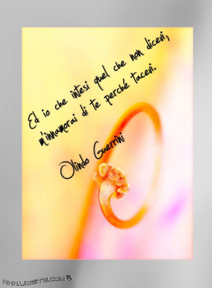 #Olindo #Guerrini - Ed io che intesi ....
