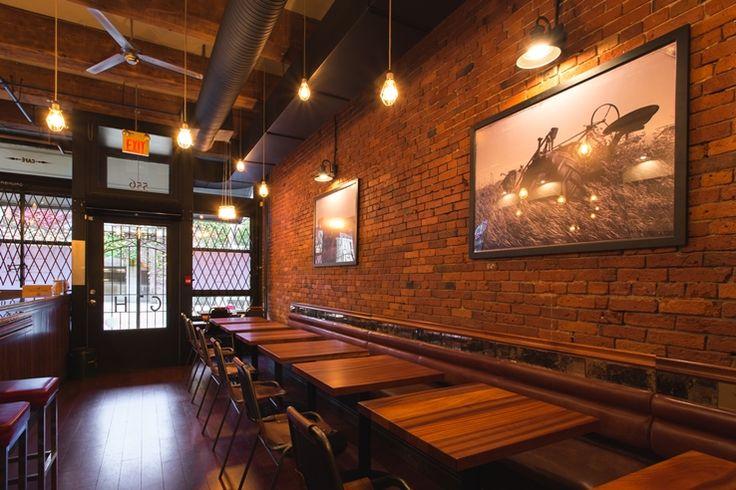Danicas Baked Coffee Bar interior design. Vancouver, BC.