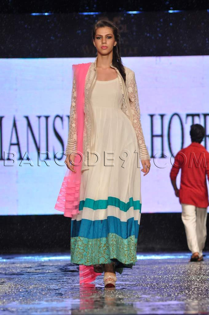Collection by Manish Malhotra at CPAA Fashion Show.