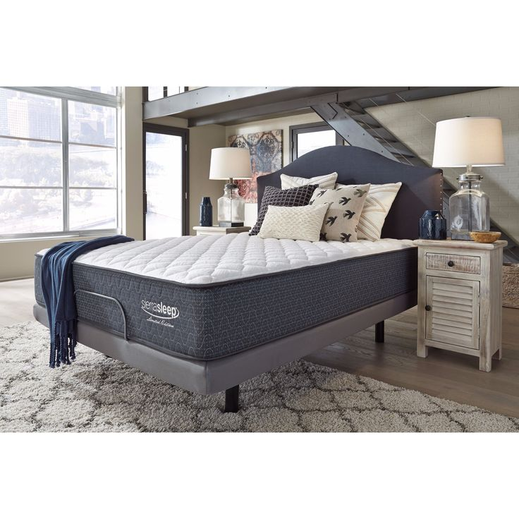 Signature Design By Ashley Limited Edition Firm Full Size Mattress White